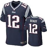 Tom Brady New England Patriots NFL Blue Game Day Replica Jersey