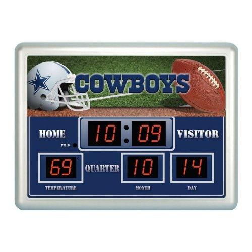 Dallas Cowboys Time / Date / Temp. Scoreboard