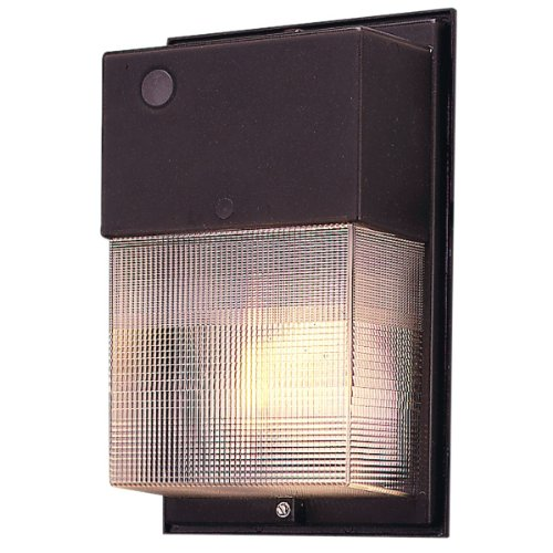 Wall Sconces Cooper Lighting : Cooper Lighting W-35-H/PC 35W High Pressure Sodium Wall Pack with Photo Control, Bronze Cooper ...