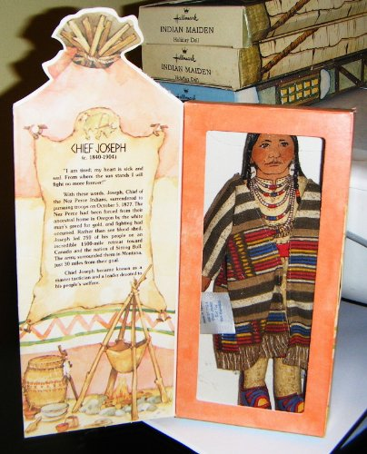 Hallmark Collectible Doll - Chief Joseph, Famous Americans Series 1 front-1000083