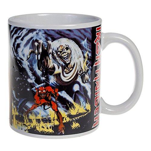 Iron Maiden tazza da caffè Number of the Beast