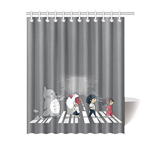 [Miss2 Shower Curtain,Ghibli Totoro DIY Custom Waterproof Polyester Shower Curtain Standard Size] (Totoro Diy Costume)