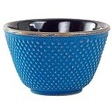 Azure Hobnail Tetsubin Tea Cup