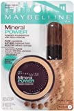 (2 Pack) Maybelline New York Mineral Power Powder Foundation, Honey Beige, Medium 4, 0.28 Ounce