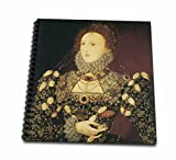 Bln Portrait Gallery By The Masters Fine Art Collection Queen Elizabeth I By Nicholas Hilliard Memory Book 12 X 12 Inch (Db 128071 2)