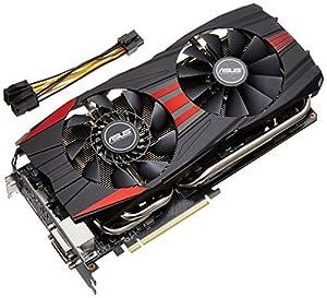 Asus Radeon R9290 DirectCU II OC 4GB AMD Grafikkarte (PCI-e, 4GB GDDR5 Speicher, HDMI, DVI, DisplayPort, 1 GPU)