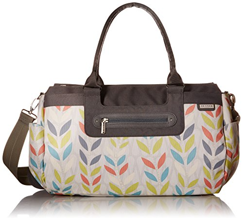 JJ Cole Parker Diaper Bag, Citrus Breeze