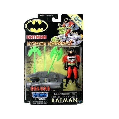 Batman: The New Batman Adventures Mission Masters 4 Deluxe Night Assault Batman Action Figure