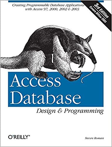 Access Database Design & Programming, 3rd Edition