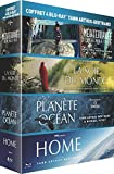 Coffret Yann Arthus-Bertrand - Planète Océan + La soif du monde + Home + Méditerranée, notre mer à tous [Blu-ray]