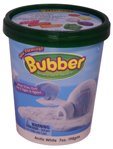 Bubber 7oz Bucket White
