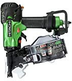 日立工機 高圧ロール釘打機 針金32~50mm シート27~50mm 品確法・2×4対応 グリーン NV50HMC(L)
