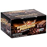Pure Protein High Protein Bar, Chocolate Deluxe, 6 Bars, 1.76 Ounces (Pack of 2)