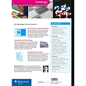 Printdesign: Flyer, Broschüre, Plakat, Geschäftsausstattung - Das aktuelle Lern- und Nachschlagewe