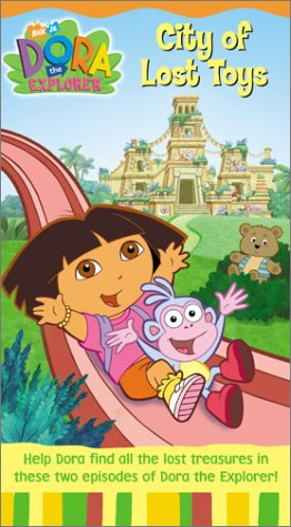 Dora the Explorer - City of Lost Toys [VHS]