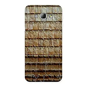 Cute Old Wall Back Case Cover for Galaxy A8