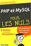 PHP et MYSQL