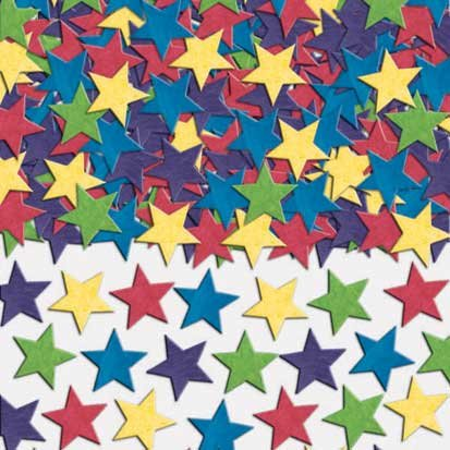 Mini Star Paper Confetti 2oz - 1