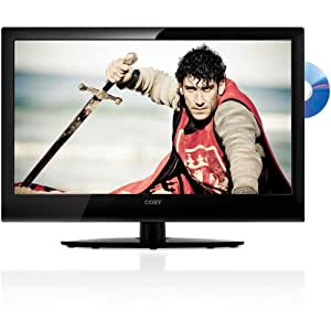 Coby LEDVD2396 23-Inch 1080p 60Hz Widescreen LED HDTV with DVD Player (Black)