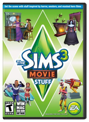 The Sims 3 Movie Stuff [Online Game Code] front-951451