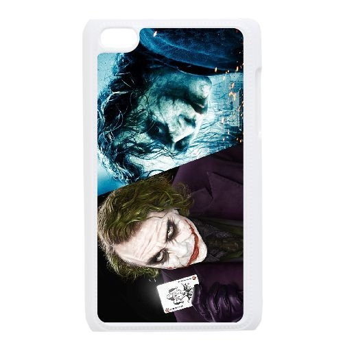 Personalized Durable Cases Ipod Touch 4 White Phone Case Jbvvj Joker Heath Ledger Protection Cover
