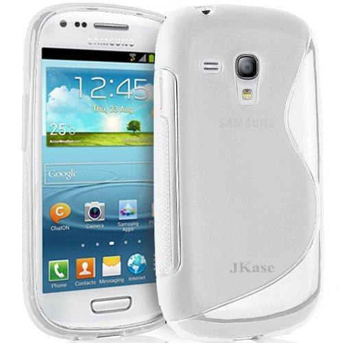 Jkase Premium Quality Samsung Galaxy S3 Iii Mini I8190 Streamline Tpu Case Cover - Retail Packaging - Clear