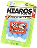 Hearos Xtreme Protection Series Ear Plugs 10-Pair with Free Case (Pack of 3)