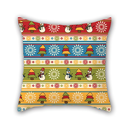 PILLO Christmas Pillowcover ,best For Dance Room,dinning Room,lounge,girls,couch,gf 16 X 16 Inches / 40 By 40 Cm(double Sides)
