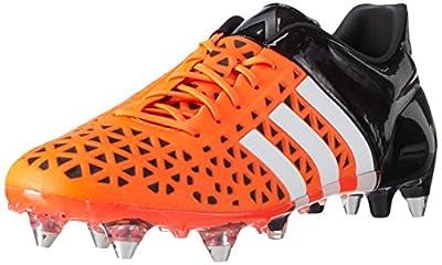 adidas Ace 15.1 SG Men's Soccer Boot, Orange/Black/White, US10