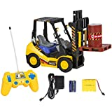 Best Choice Products Rc Remote Control Forklift With Lights, 6 Channel Electric Kids Toy Rc