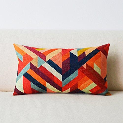 throw-pillow-american-rural-wind-cartoon-sofa-pillow-cushion-lumbar-support-cotton-linen-blending-pi
