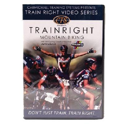 Carmichael Training Systems CTS Train Right Mountain Biking DVD.