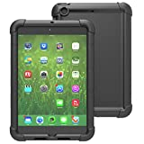 iPad Air 2 Case - Poetic iPad Air 2 Case [Turtle Skin Series] - [Corner/Bumper Protection] [Grip] [Sound-Amplification] Protective Silicone Case for Apple iPad Air 2 Black (3 Year Manufacturer Warranty From Poetic)