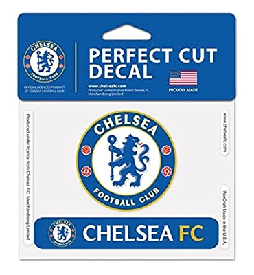 Chelsea FC Official 4 x 5 inch Perfect Cut Color Decal