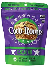 Wonderfully Raw Organic Cacao Nib Coco-Roons, 6.2 Ounce