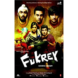 Fukrey - DVD (Hindi Movie / Bollywood Film / Indian Cinema) -2013