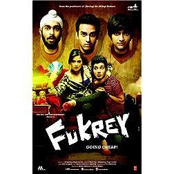 Fukrey - DVD (Hindi Movie / Bollywood Film / Indian Cinema) -2013