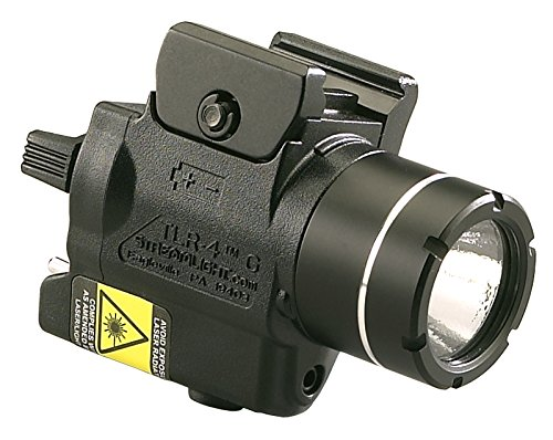 Streamlight 69247 Tlr-4G H&K Usp Full Size Rail Mounted Tactical Light With Integrated Green Laser And Cr2 Lithium Battery