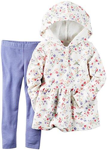 Carter's Baby Girls 2 Pc Playwear Sets, Print, 12M
