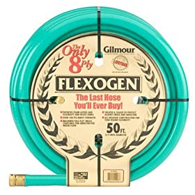 Gilmour 10-34050 3/4-Inch-by-50-Foot 8-Ply Flexogen Hose