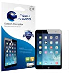 Tech Armor iPad Mini with Retina Display and iPad mini Screen Protector - Premium HD Clear with Lifetime Replacement Warranty [3-pack] - Retail Packaging - Works with all iPad mini models