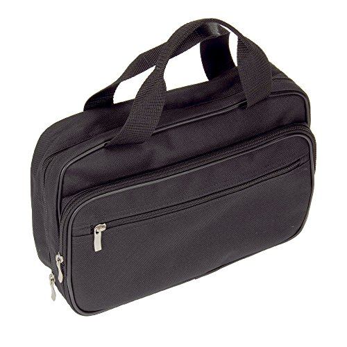 Household Essentials Double Sided Travel Kit Bag, Black, One Size (Household Essentials Gift compare prices)
