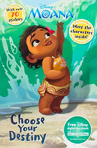 Disney Moana Choose Your Destiny