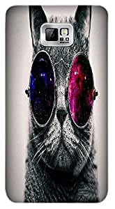 Timpax Protective Armour Case Cover lightweight construction easily slides in and out of pockets. Multicolour Printed Design : A handsome kitten.Precisely Design For : Samsung I9100 Galaxy S II ( S-2 )