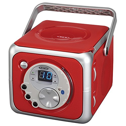 jensen-cd-555-red-limited-edtion-portable-bluetooth-music-system-with-cd-player-cd-r-rw-fm-radio-wit