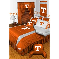 Tennessee Volunteers FULL Size 14 Pc Bedding Set (Comforter, Sheet Set, 2 Pillow... by Sports Coverage