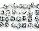 Ten Assorted Clear Crystal Rhinestone...