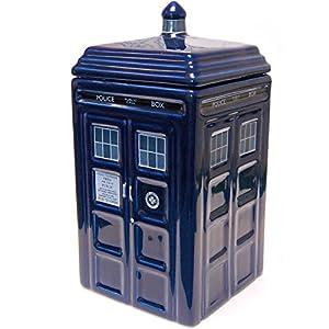 Zeon Ceramic Dr Who Tardis Cookie Jar