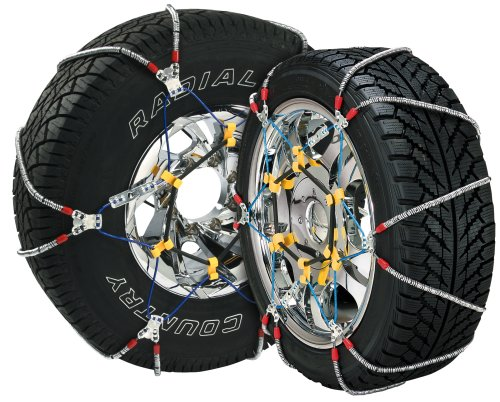 Security Chain Company SZ129 Super Z6 Cable Tire Chain for Passenger Cars, Pickups, and SUVs - Set of 2