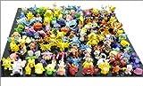 1 SET PER LOTS 144PCS POKEMON ACTION FIGURES 2-3CM BY @CNFT